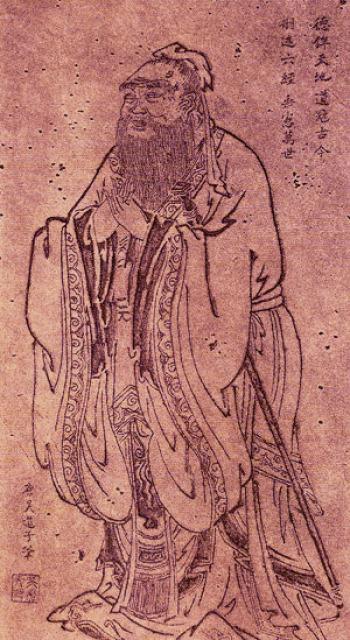 Confucio, Wu Daozi