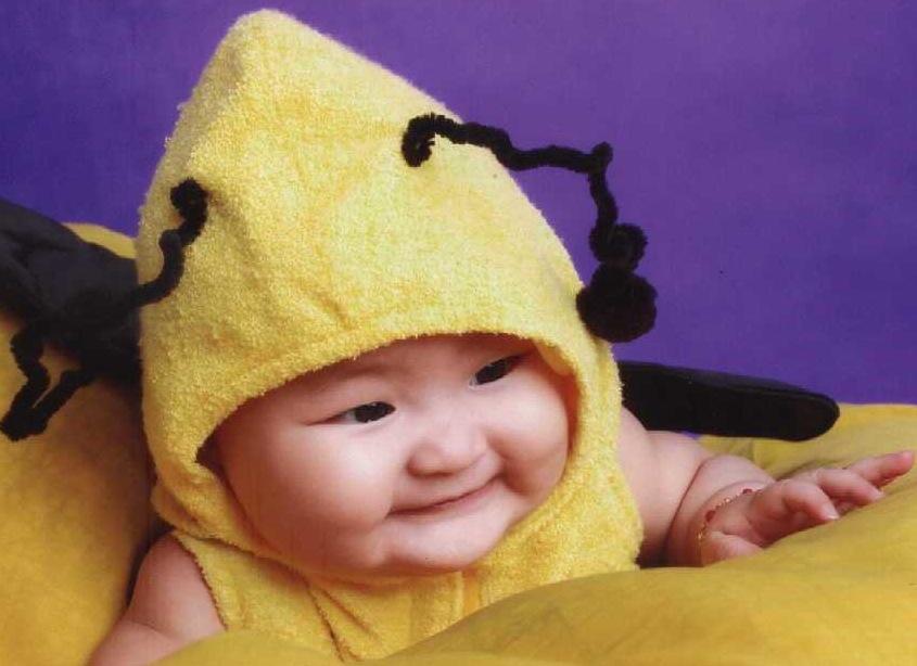 Bambini modelli in Cina