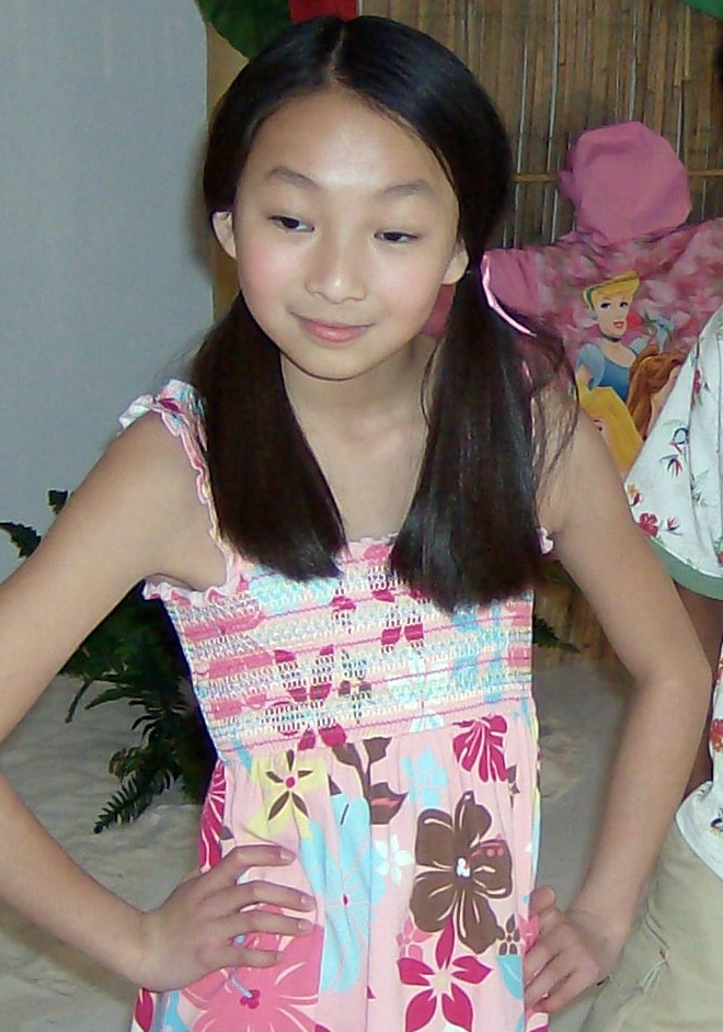 modella bambina cinese