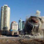 Smantellato il Qingdao Railway Plaza