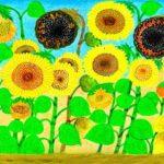 Grandma Van Gogh espone ad Hong Kong per beneficienza