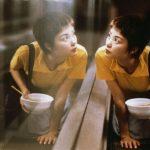 Ragazze allo specchio a Shanghai