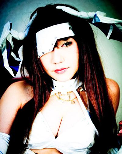 ragazza cinese cosplay