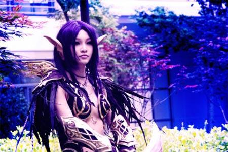 cosplay ragazza orientale