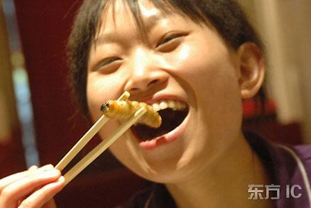 Mangiare insetti in Cina