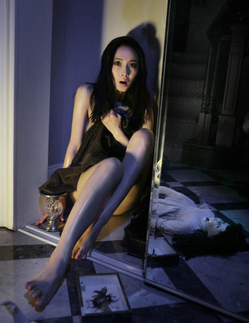 modella cinese horror