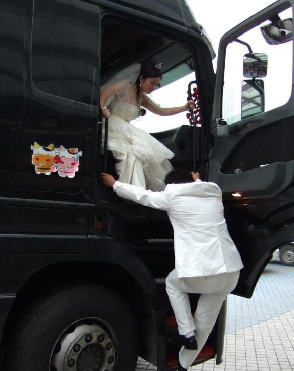 Matrimonio in camion
