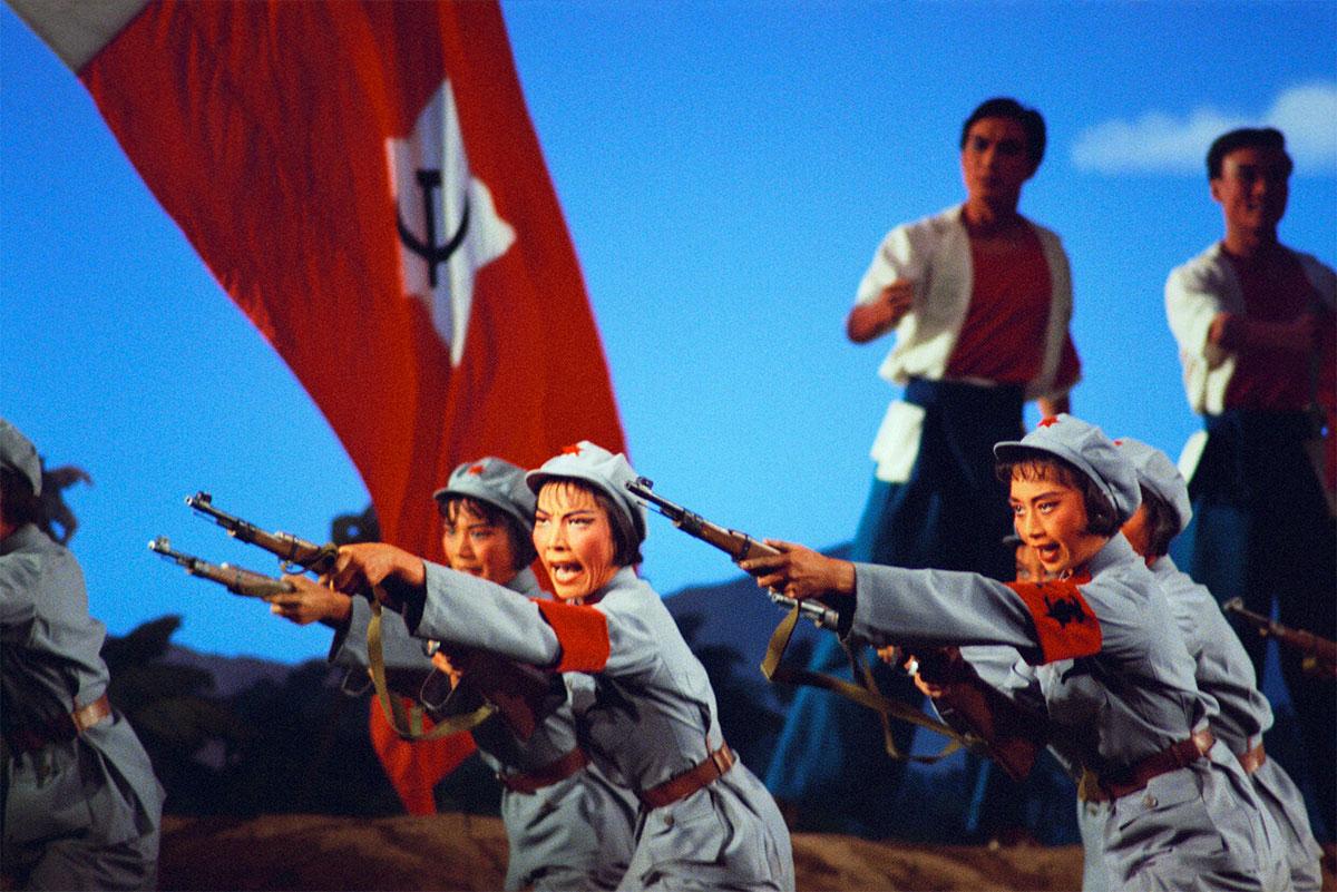 Una scena dal Distaccamento Rosso delle Donne. (Produzione 1972)