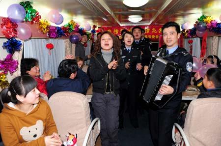 Treno in festa