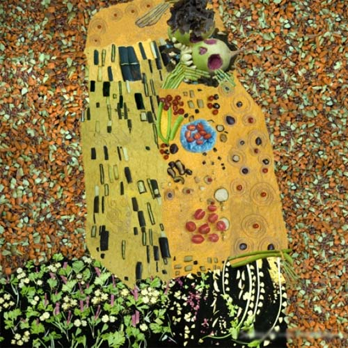 012-il-bacio---museo della verdura
