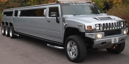 limousine H2 Hummer