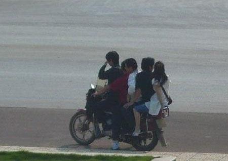 moto in Cina