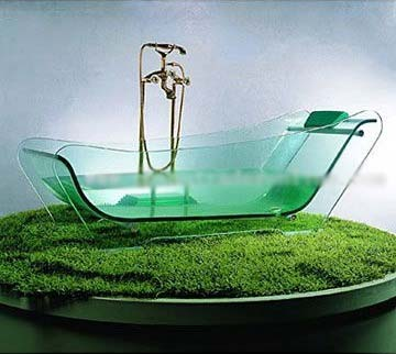 Vasche trasparenti