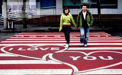 Strisce pedonali Cina