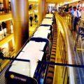 treno centro commerciale
