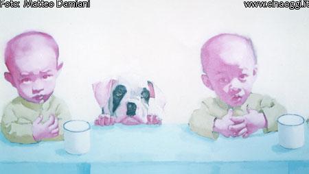 Tang Zhigang - L'arte dei bambini soldato
