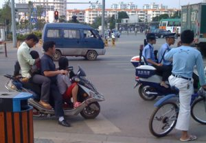 Traffico cinese