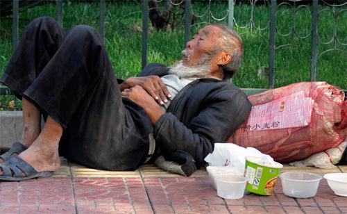 condizione degli anziani in Cina