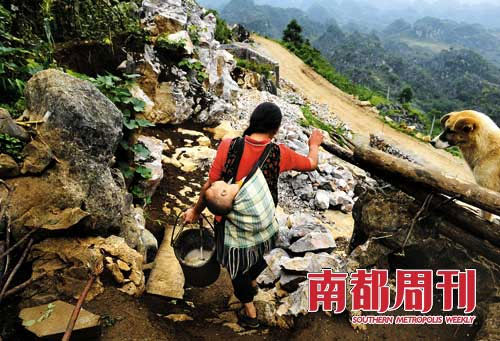 polluted-water-002-inquinamento idrico in Cina
