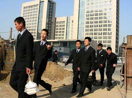 immagini di giovani cinesi