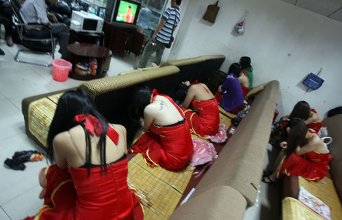 prostitute cinesi
