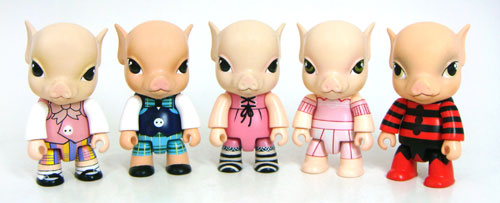 pupazzi in vinile-pigs-maiali