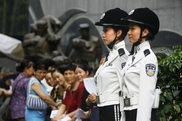 uniformi poliziotte cinesi