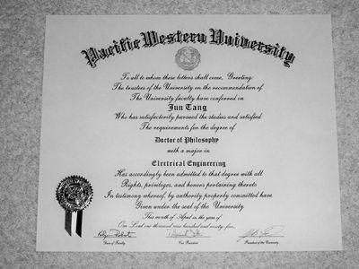 diploma-titoli di studio falsi