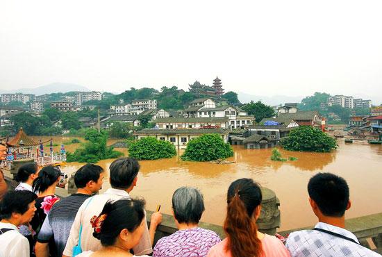 Inondazioni in Cina