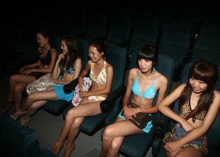 ragazze cinesi in bikini