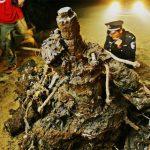 I resti di un caccia americano della Seconda Guerra Mondiale ritrovati in Cina