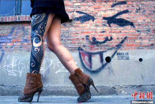 Festival dei tatuaggi in Cina