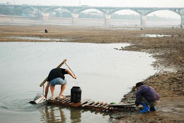 china_drought-8-Foto di siccità in Cina