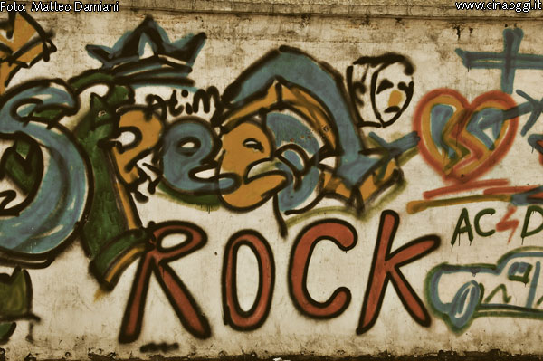 Rock-graffiti
