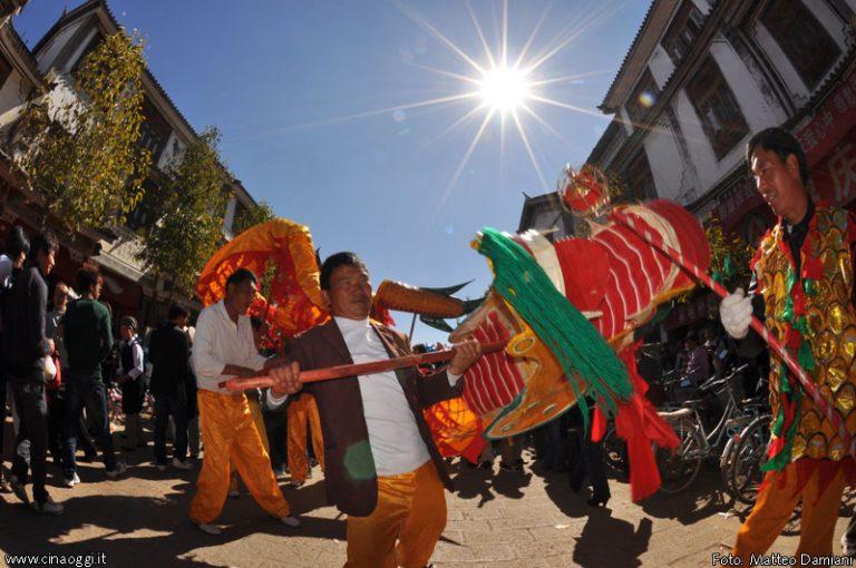 danza del drago cinese