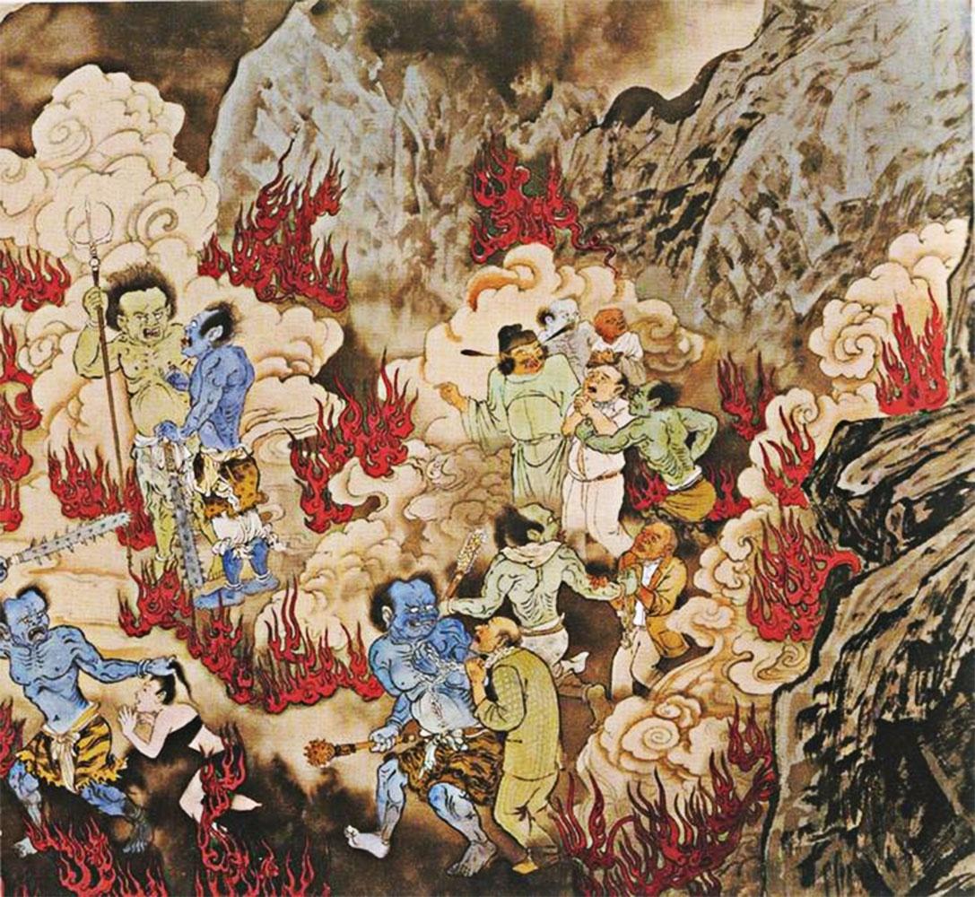 camera degli specchi inferno cinese