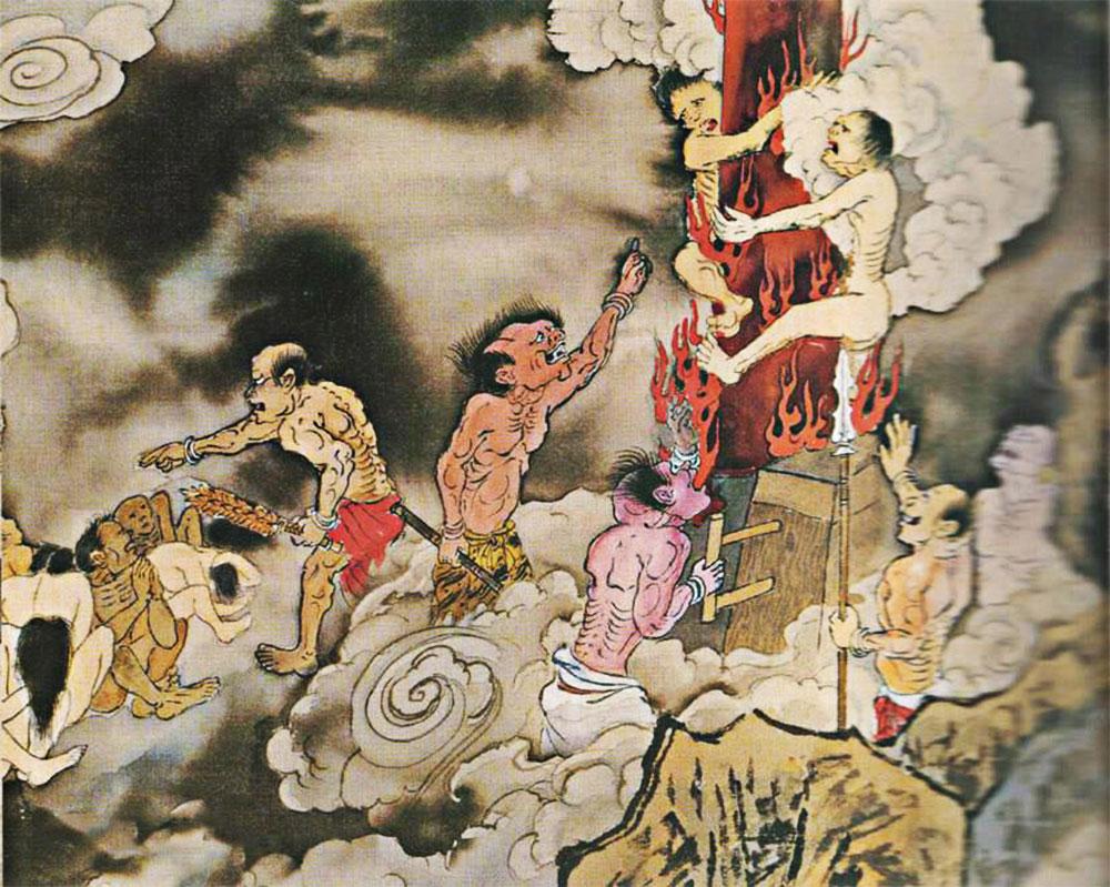 La foresta delle colonne di rame inferno cinese