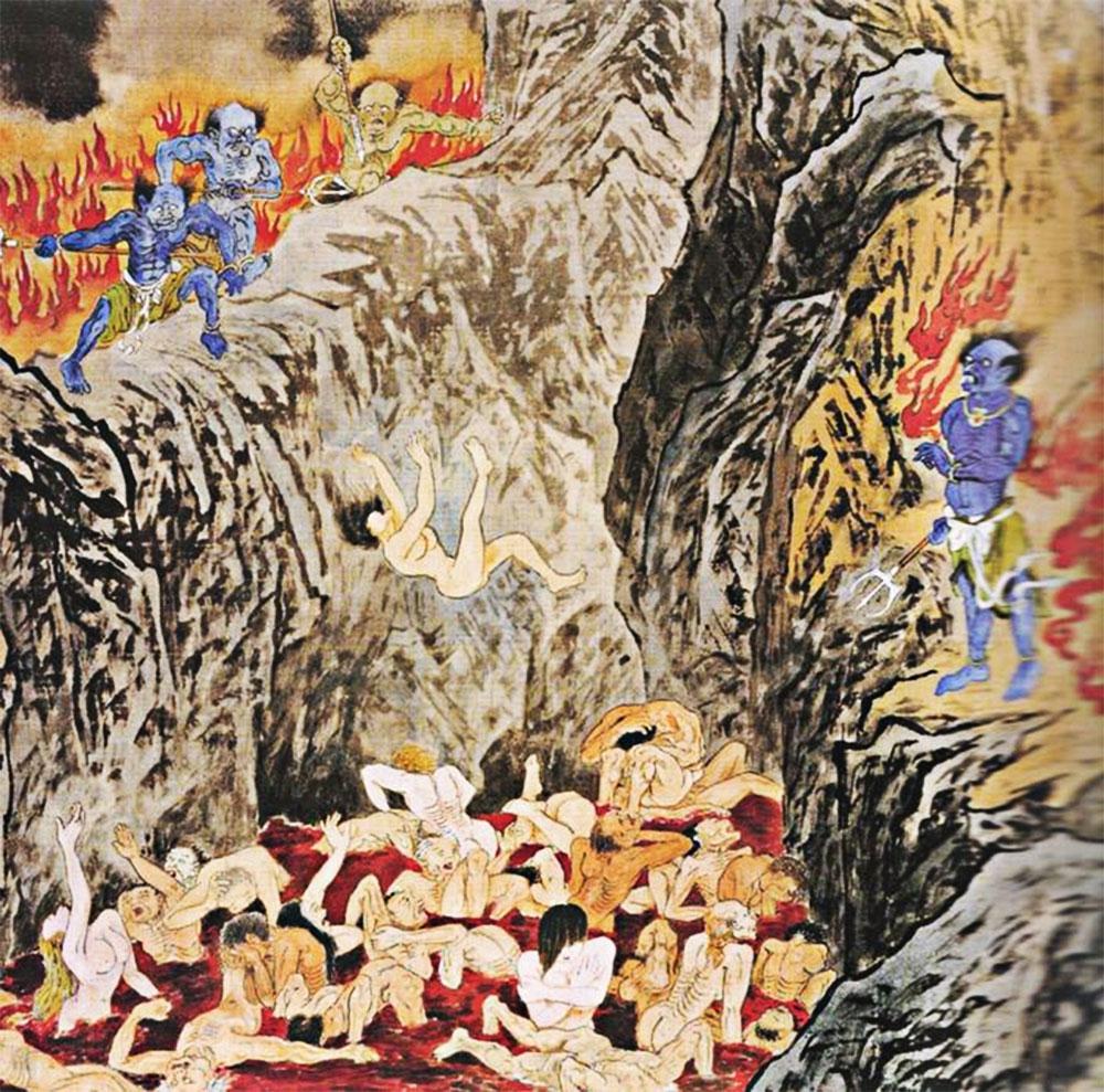 La vasca di sangue inferno cinese