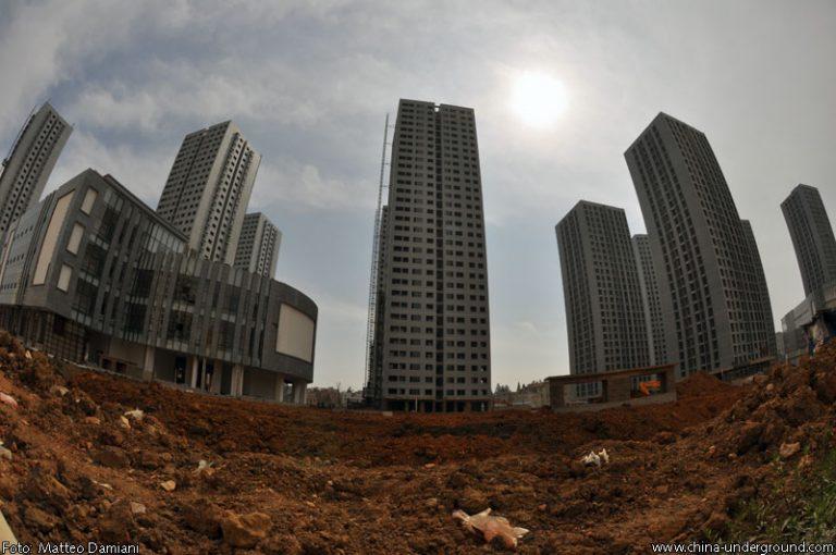 Città fantasma in Cina-la città fantasma di Chenggong