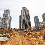 Viaggio fotografico a Chenggong, una delle più grandi città fantasma dell'Asia