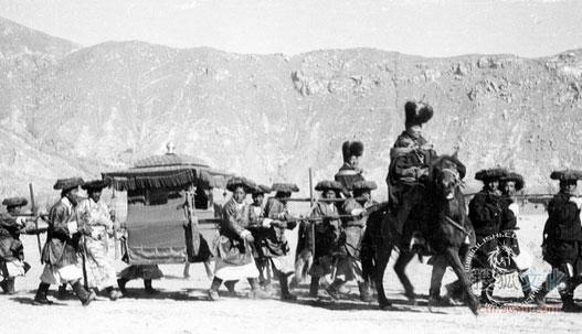 fotografie storiche del tibet