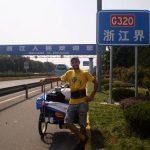 Intervista a Mauro Anzideo: da Shanghai a Dali su un triciclo