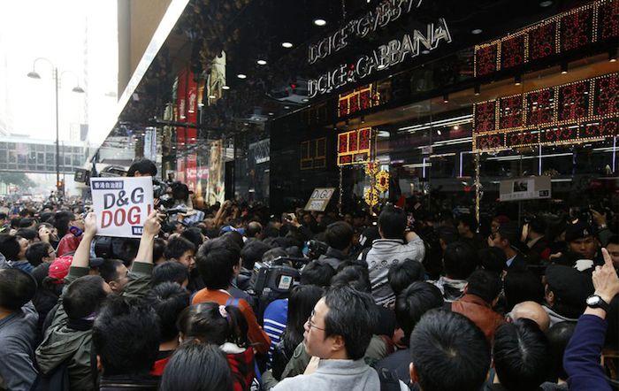 Flash mob a Hong Kong