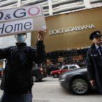 Flashmob ad Hong Kong contro D&G