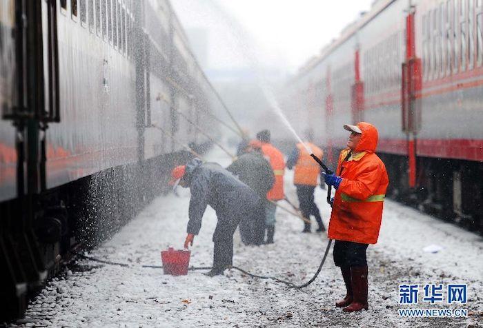 lavorare durante le feste in Cina