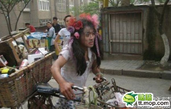 senzatetto cinese
