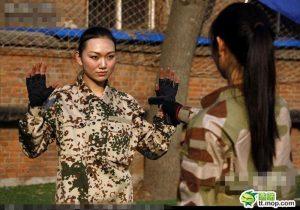 modelle cinesi bodyguard