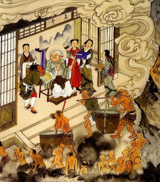 Meng Po, la Signora dell'Oblio