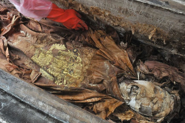 mummia dinastia Ming