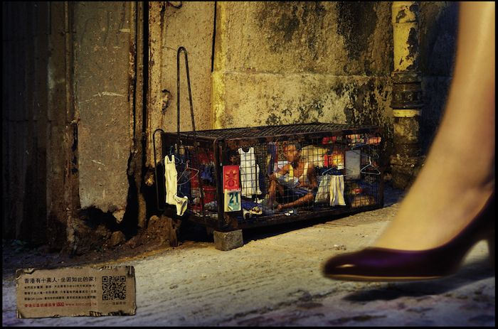 006HongKongCage-Persone in gabbia